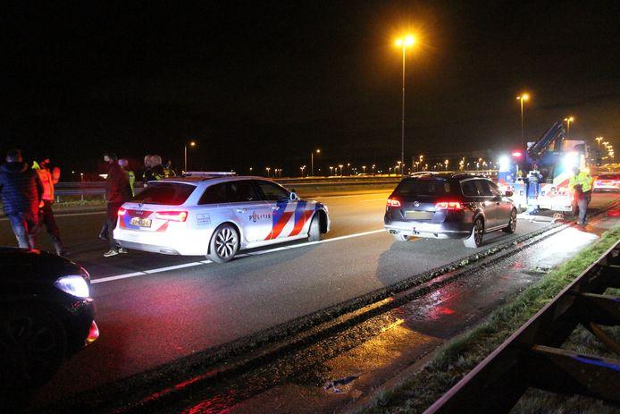 Achtervolging naar aanleiding van melding van illegaal gokken in Rijswijk.