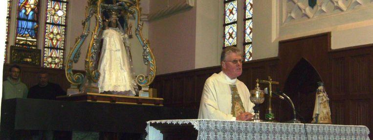 Pastoor Eric Scheunis.