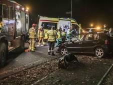 Automobilist gewond bij crash in Hoenderloo