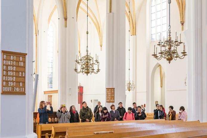 Een groep Chinese touroperators bracht onlangs een bezoek aan Hasselt.