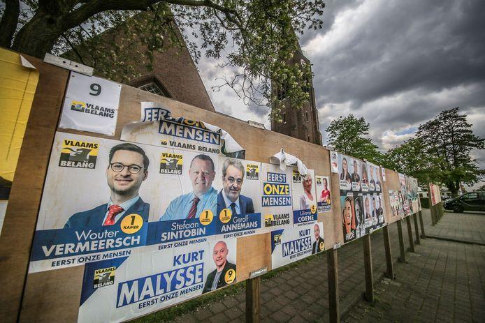 In Wielsbeke stemde ruim 1 op 4 van de inwoners op extreemrechts.