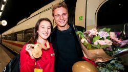 """Nina Derwael opgewacht door vriend en ze ontvouwt plan voor olympisch goud: """"Oefening snel 'af' hebben"""""""