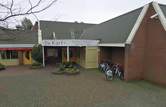 Bowling- en sportcentrum De Korf.