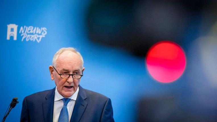 Commissaris van de koning in Noord-Holland Johan Remkes Beeld anp