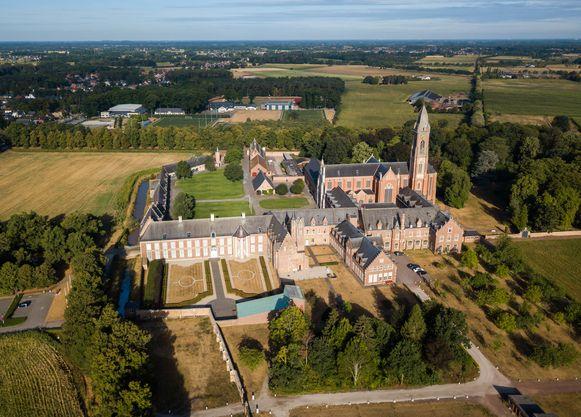 De abdij van Tongerlo.