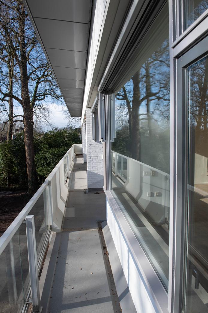 TT-2020-000652 - ALMELO - Voormalige bejaardenhuis De Klokkenbelt, verbouwd tot appartementen voor InteraktContour. Is bijna klaar. EDITIE: ALMELO FOTO: Lars Smook LS20200204