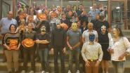 Ochtendwandeling steekt in Halloweenjasje