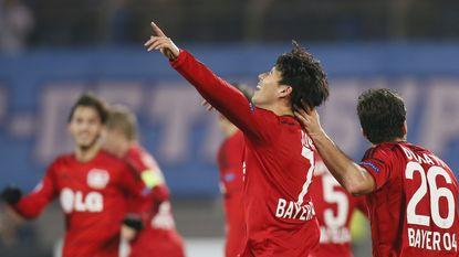 Zenit  pijnlijk de boot in tegen Leverkusen, Benfica klopt Monaco (1-0)