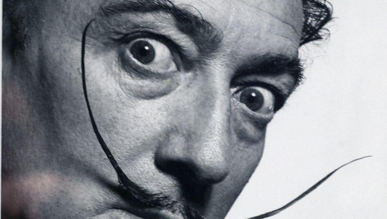Een van de bekendste kunstenaars van de 20ste eeuw: Salvador Dalí. Beeld null