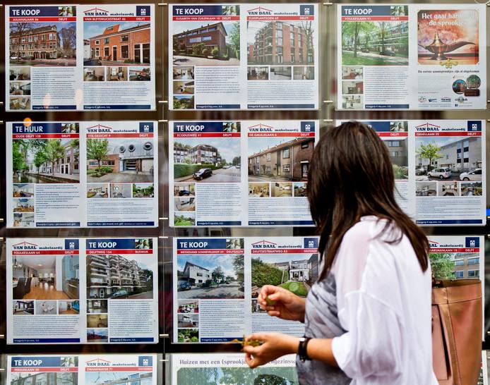 De verkoopprijzen zijn de afgelopen drie maanden met bijna vijftien procent gestegen.