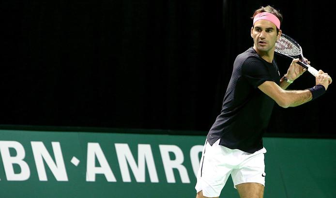 De Zwitserse tennisser speelt vanavond zijn eerste wedstrijd van het toernooi tegen de Belg Ruben Bemelmans