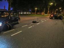 Geen gewonden bij frontale botsing in Helmond