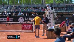 """""""Dit is complete bullshit!"""" Shapovalov door het lint op Lyon Open"""