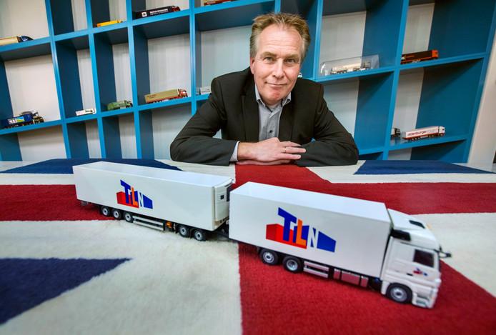 Elmer de Bruin van het TLN-brexitteam: ,,Bij een harde brexit wordt de transportsector zwaar getroffen.''