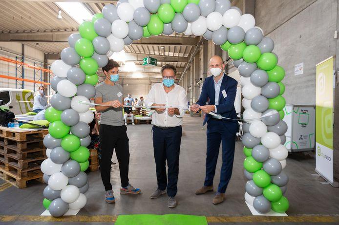 De opening van de nieuwe cospacing van CityDepot en Cargo Velo.