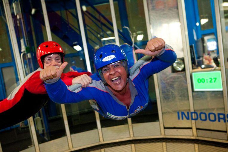 Voelen dat je vliegt: indoor skydiven is de max!