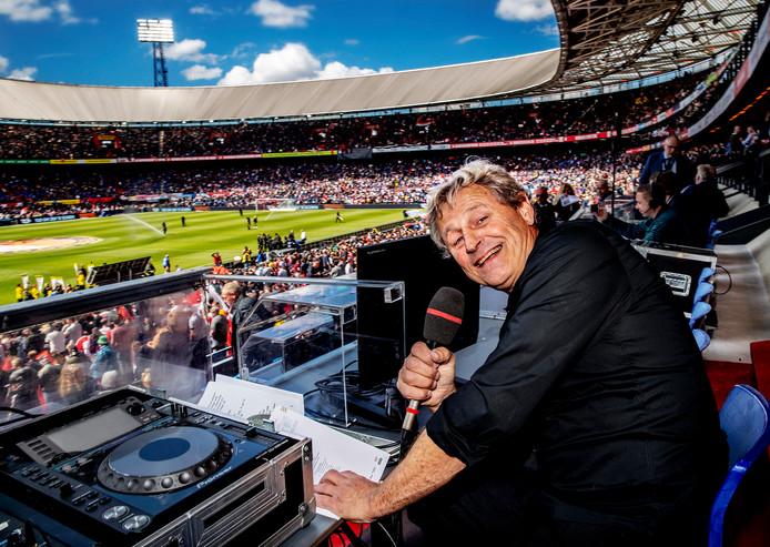 Peter Houtman, speaker bij Feyenoord.
