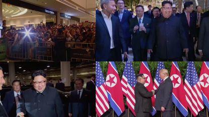 Video: Dit is wat de Noord-Koreanen te zien kregen over de Kim-Trump ontmoeting