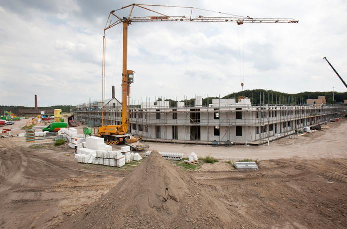 Woningbouw op het Enka-terrein in Ede op archiefbeeld.