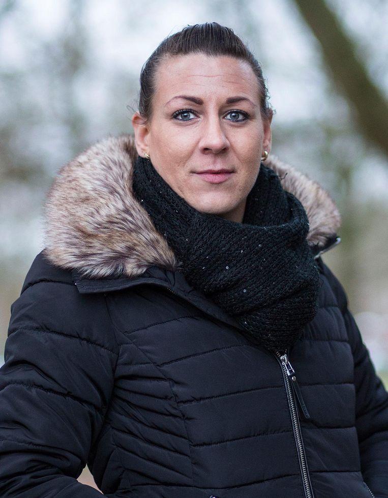 Ex-verslaafde Angela Beeld null