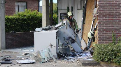VIDEO. Plofkraak op Argenta-kantoor in Oudsbergen, grote buit wellicht onbruikbaar door inkt