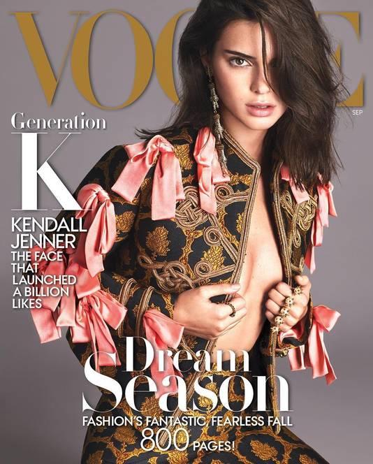 De bewuste septembercover van Vogue met Kendall Jenner.