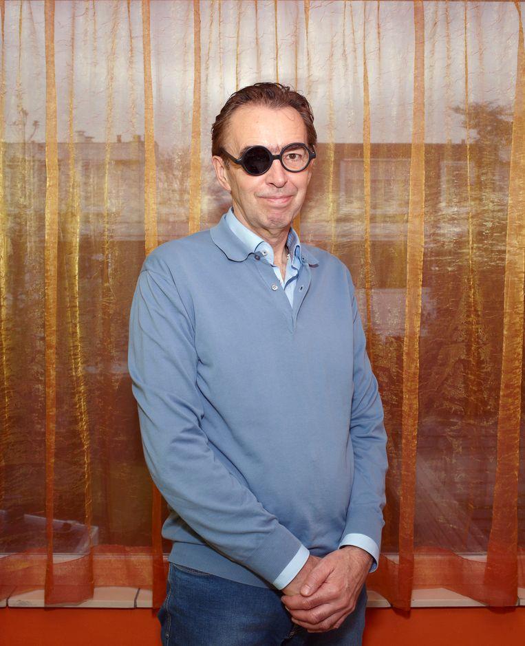 Peter de Wit met Sigmund-bril. Beeld Daniel Cohen