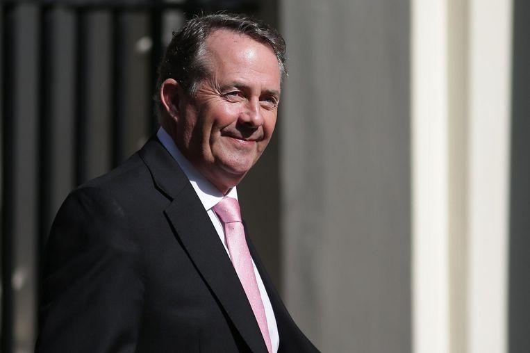De Schotten vrezen dat de Britse handelsminister Liam Fox - een Schot nota bene - onder Amerikaanse druk zal zwichten. Beeld AFP