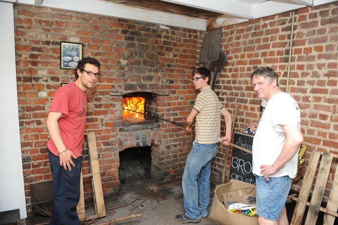 Enkele jaren geleden werden er nog broden gebakken in de oven van Paddenbroek.