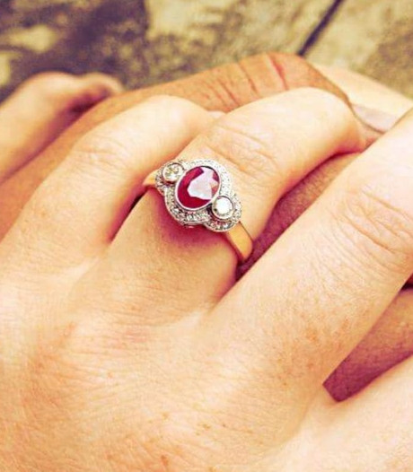 'Ongelofelijk dat iemand mijn trouwring vond in zo'n enorme woestijn'