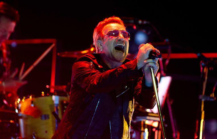 Bono van U2 in Ziggo Dome Beeld anp