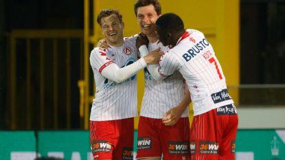 VIDEO. Van Der Bruggen houdt KV Kortrijk  met twee goals op finalekoers