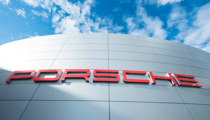 Le siège de Porsche à Stuttgart, en Allemagne.