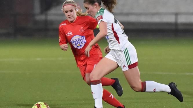 """Hannah Eurlings helpt OHL met twee doelpunten voorbij FWS Woluwe: """"Het was vooral een goede teamprestatie"""""""