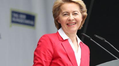 Twijfels bij draagvlak voor Ursula von der Leyen in Europees Parlement