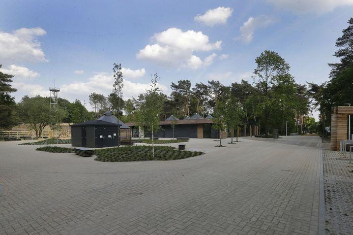 Blikvanger van het domein is het vernieuwde Bosmuseum met een groot ontmoetingsplein voor wandelaars en fietsers.