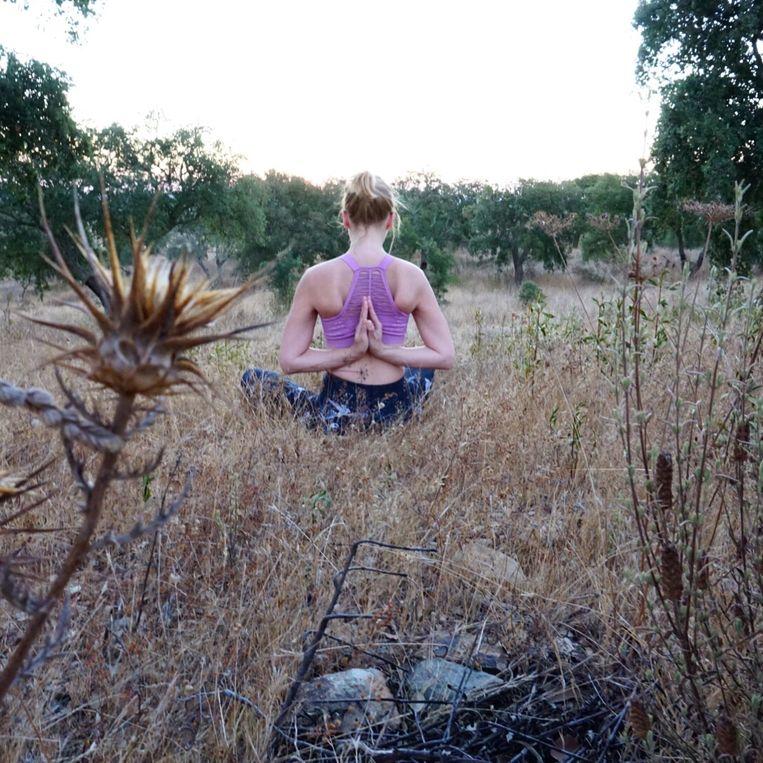 Yoga met Marie