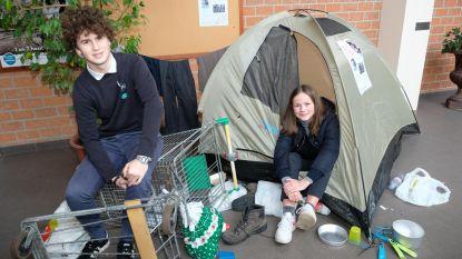 Op vakantie in... vluchtelingenkamp