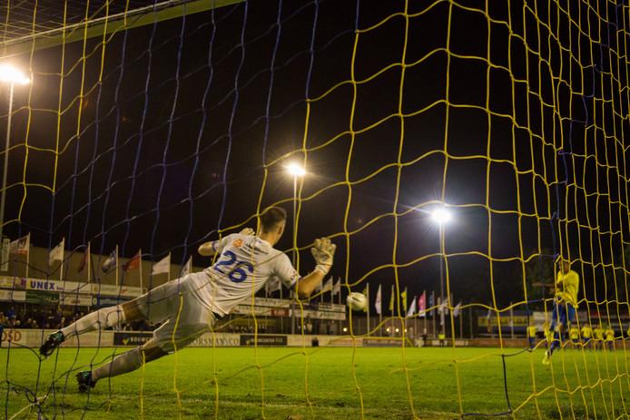 De hele strafschoppenserie moet woensdag opnieuw, maar waarom begint FC Lisse niet met de derde strafschop?
