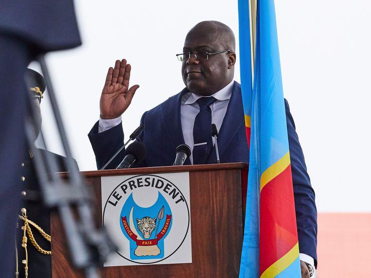 De nieuwe Congolese president Felix Tshisekedi