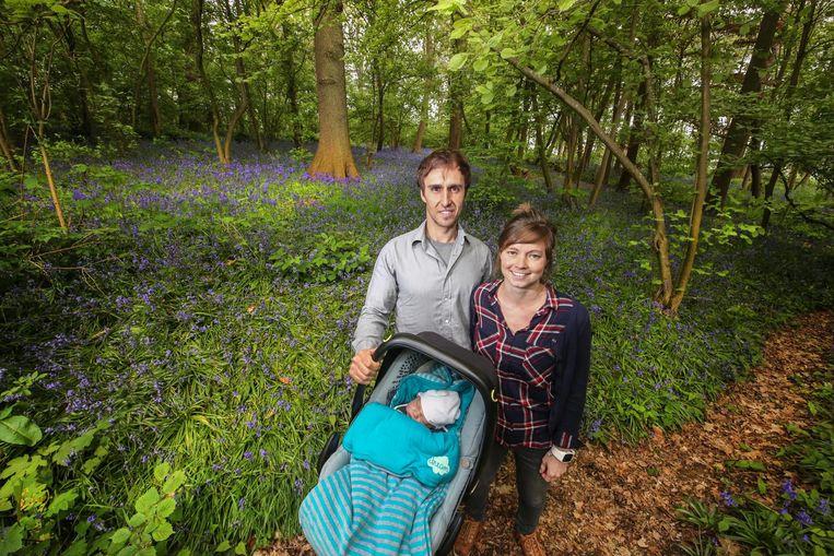 Brecht Planckaert (36) en Julie Deriemaker (29) zijn de nieuwe parkwachters.