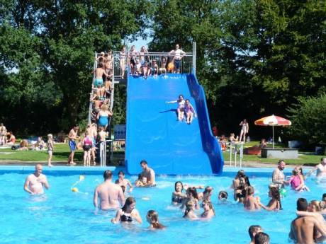 Indian Summer! Openluchtbad Deventer extra open