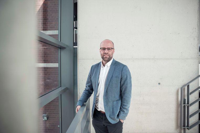 Burgemeester Tom Thijsen van Kortessem.