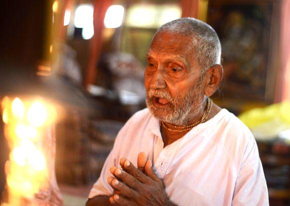 Swami Sivananda drie jaar geleden.
