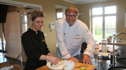 Francesca Sterckx, chef-kok van het Aarschotse restaurant 'Mistinguette', is voortaan lid van de Young Mastercooks