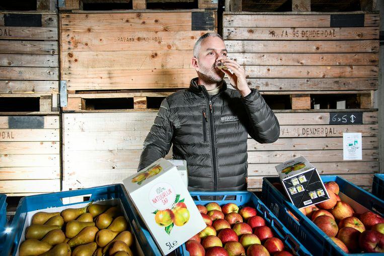 """Bart Van der Straeten: """"Niets boven sap van fruit van eigen kweek!"""""""