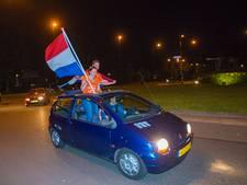 Facebook-reuring voor groots feest op Apeldoornse rotonde eindigt in minitieus feestje