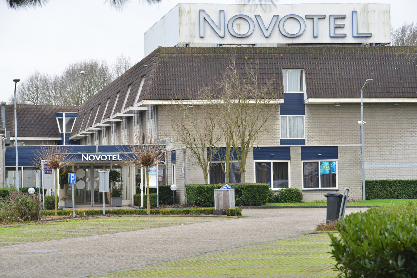 Novotel Breda, waar het voetbalteam zich misdroeg