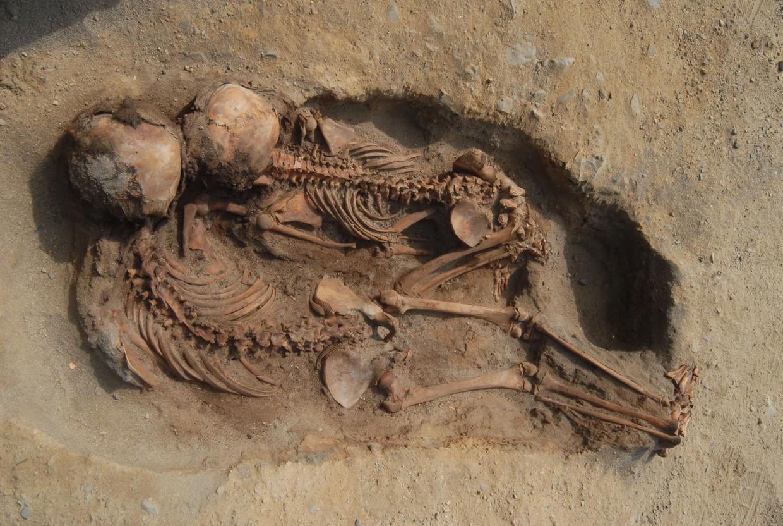 'Deze vindplaats opent een nieuw hoofdstuk in het onderzoek naar kindoffers in de oude wereld', aldus de onderzoekers. Beeld John Verano