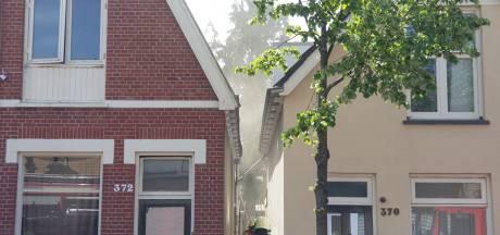 Woningbrand in Lipperkerkstraat in Enschede